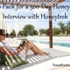 How to Pack for a 500 Day Honeymoon: Interview with Honeytrek