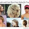 Simple and Cute Short Hair Styles for Travel