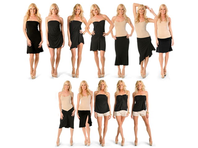 Travel Dress Must Have: Twelve Ways Convertible Travel Dress