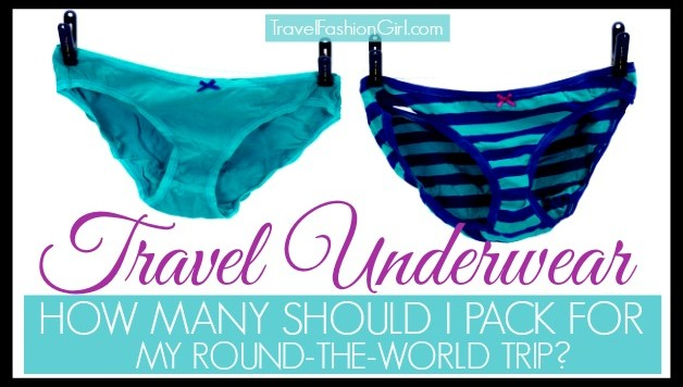 travel underwear  u2013 how many should i pack for my round
