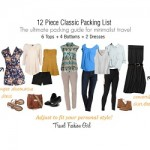 12 Piece Classic Packing List Spring 2013