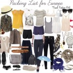 Packing List for Europe