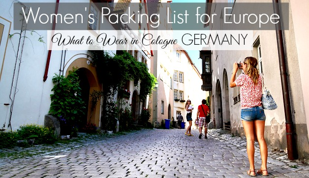 What To Pack For Trips To Germany And Cologne