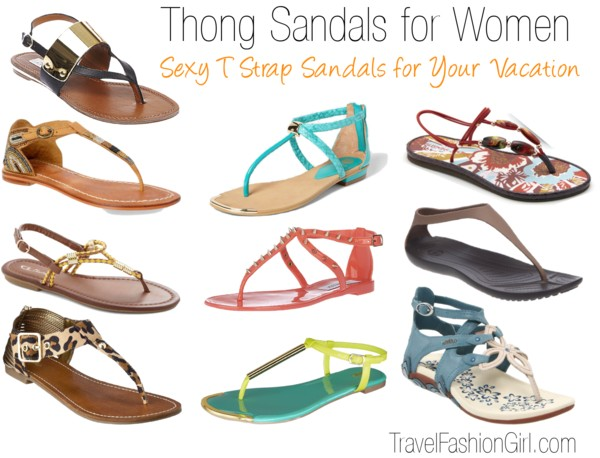 Thong Sandals for Women: Perfect for minimalist travel style