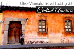 central-america-ultra-minimalist-travel-packing-list