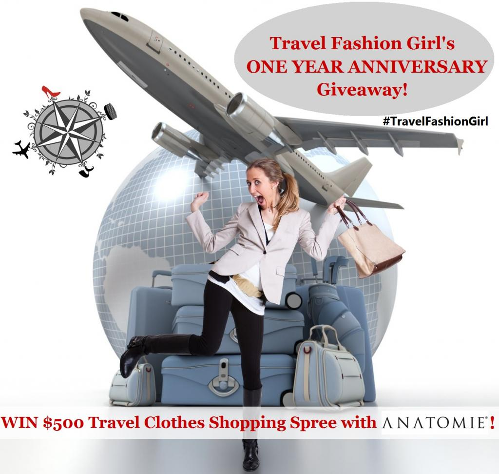Travel Fashion Girl Win a $500 Womens Travel Clothing Shopping Spree
