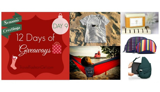 12 Days of Giveaways Day 9: Win a Backpacking Gear Prize Pack!