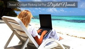 TRAVEL GADGETS PACKING LIST FOR DIGITAL NOMADS