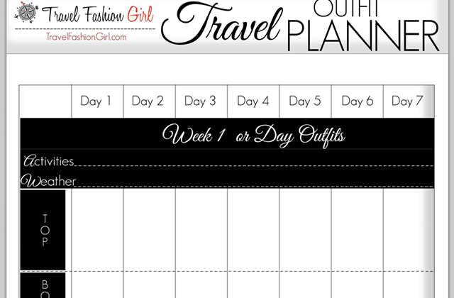 How to Plan your Travel Outfits: 5 Style Tools Show You How
