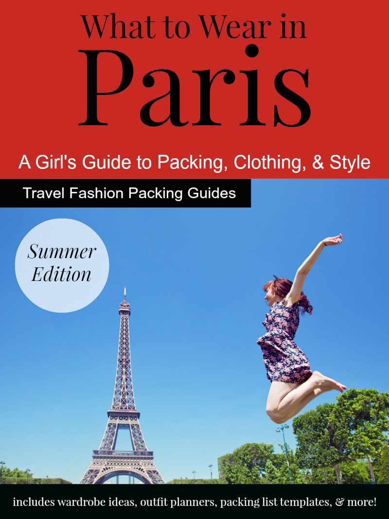What To Wear In Paris In The Summer Clothing Shoes And