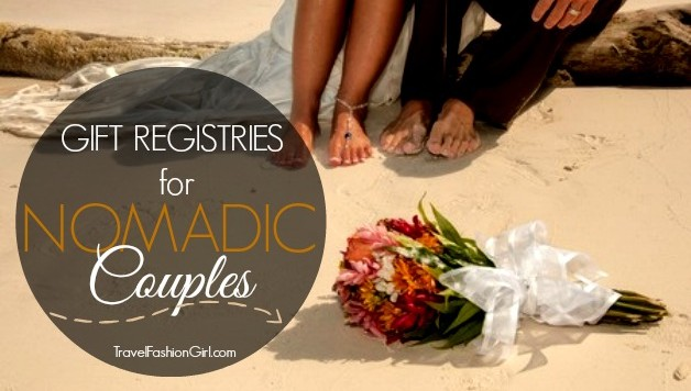 Online Wedding Registry Ideas for Traveling Couples