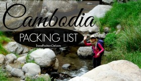 Packing List for Cambodia