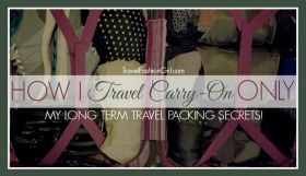 My Long Term Travel Packing Secrets! How I Travel Carry-on Only