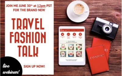 Join the New Monthly Event Travel Fashion Talk Launching TODAY