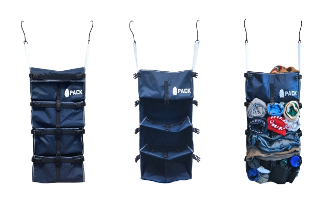 The Ultimate Backpack Organizer:  Pack and Unpack in Seconds