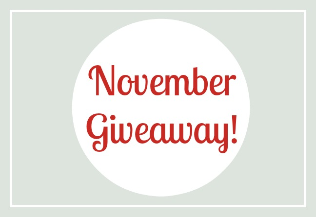 November Giveaway: Stay Warm without the Bulk!