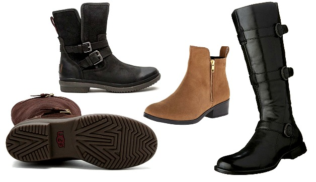 Women's Waterproof Leather Boots for the Autumn Rain and Winter Snow