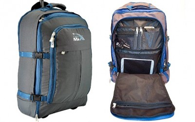 Cabin Max Malmo: Lightweight Convertible Rolling Backpack