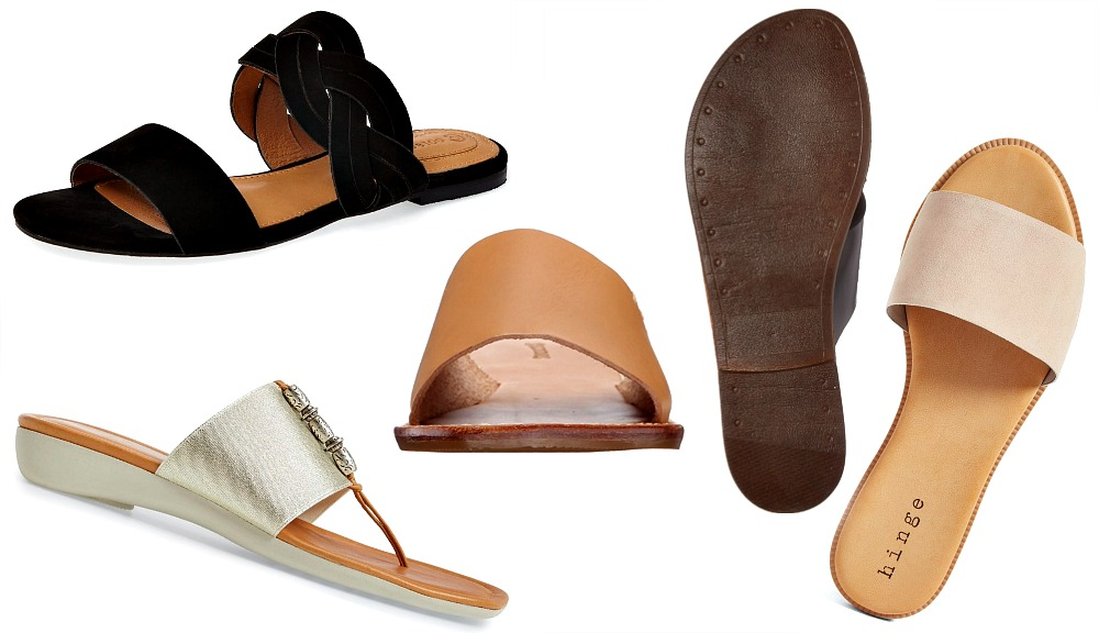 Shop the Best Slide Sandals Just in Time for Summer Vacation